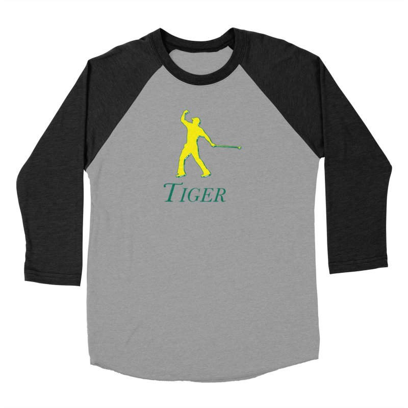 Tiger...Masters Edition Men's Longsleeve T-Shirt by leaguegear's Artist Shop