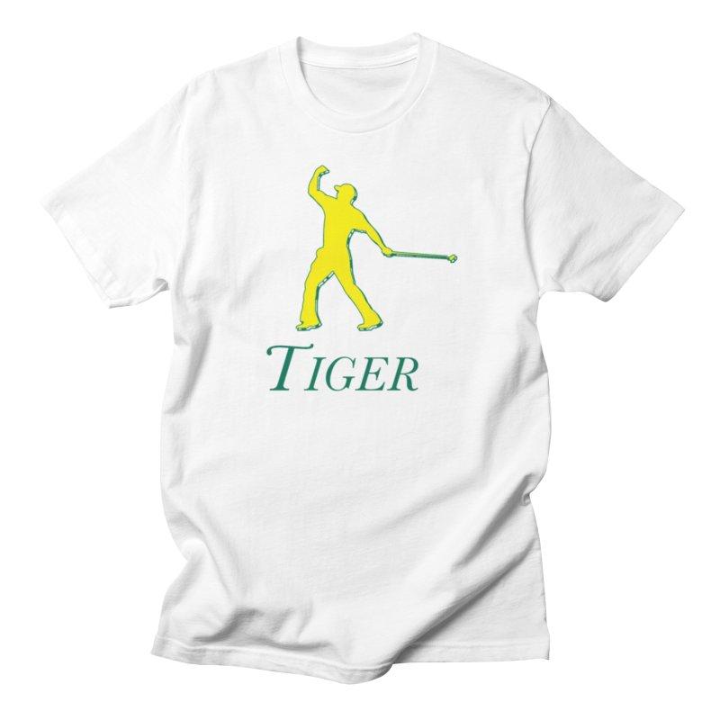 Tiger...Masters Edition Men's T-Shirt by leaguegear's Artist Shop