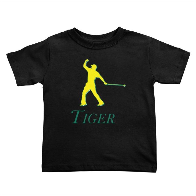 Tiger...Masters Edition Kids Toddler T-Shirt by leaguegear's Artist Shop