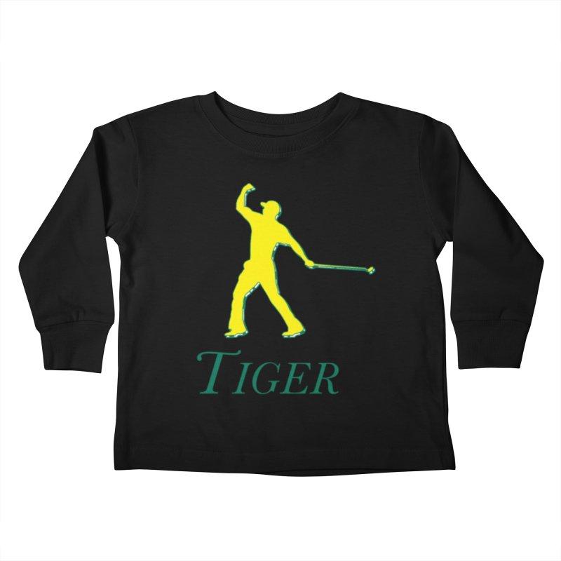 Tiger...Masters Edition Kids Toddler Longsleeve T-Shirt by leaguegear's Artist Shop