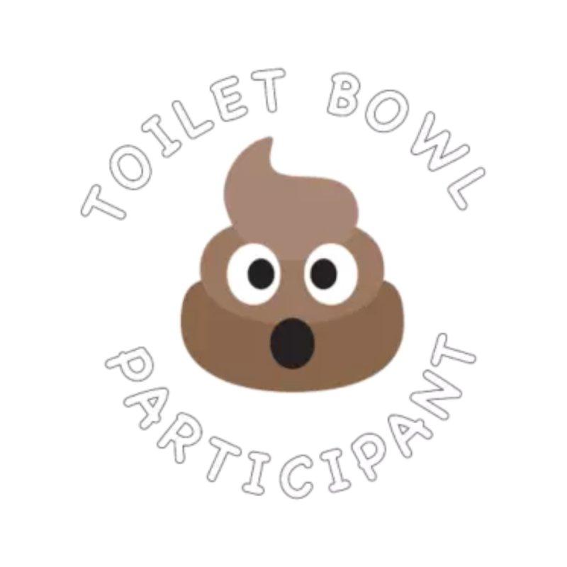 Toilet Bowl Participant Accessories Bag by leaguegear's Artist Shop