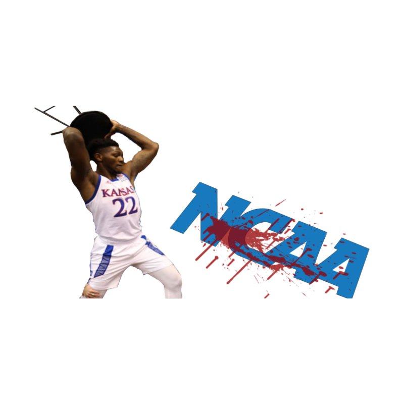KU VS NCAA Men's Zip-Up Hoody by leaguegear's Artist Shop