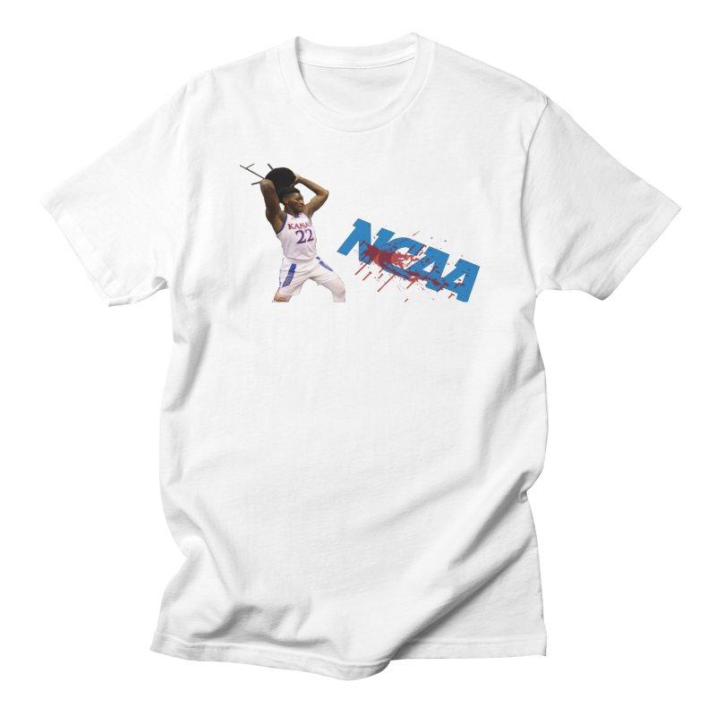 KU VS NCAA Men's T-Shirt by leaguegear's Artist Shop