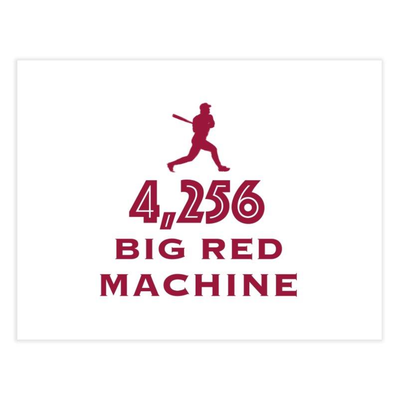 Big Red Machine Home Fine Art Print by leaguegear's Artist Shop