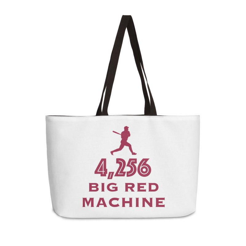 Big Red Machine Accessories Bag by leaguegear's Artist Shop