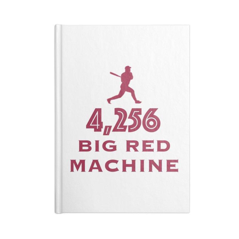 Big Red Machine Accessories Notebook by leaguegear's Artist Shop