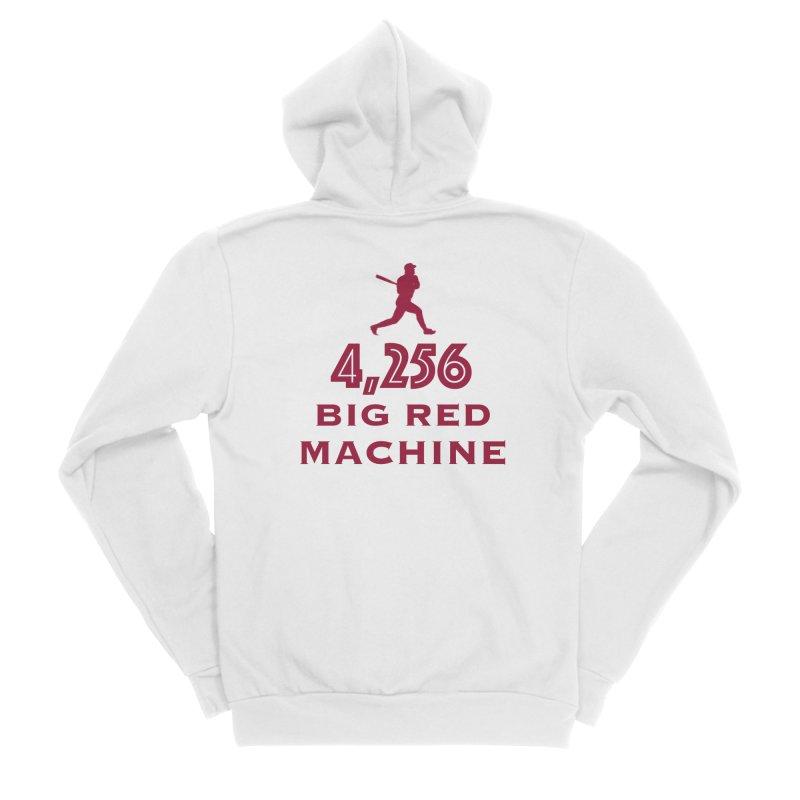 Big Red Machine Men's Zip-Up Hoody by leaguegear's Artist Shop