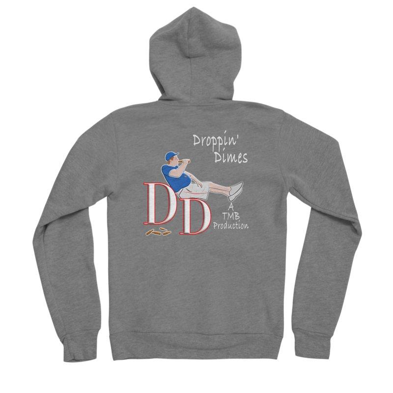 Droppin Dimes Men's Zip-Up Hoody by leaguegear's Artist Shop