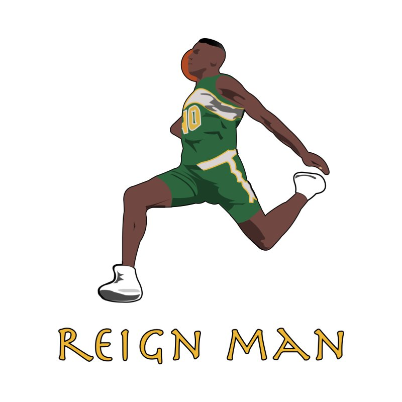 Reign Man Men's T-Shirt by leaguegear's Artist Shop