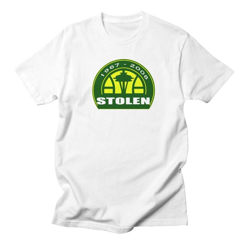 STOLEN from Seattle Men's T-Shirt by leaguegear's Artist Shop