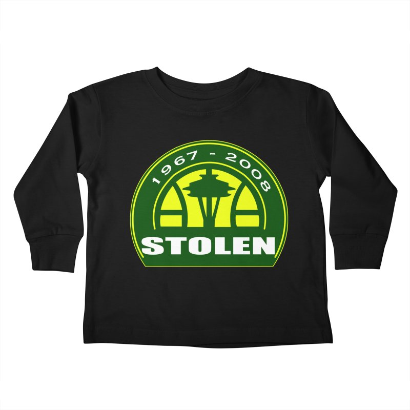 STOLEN from Seattle Kids Toddler Longsleeve T-Shirt by leaguegear's Artist Shop