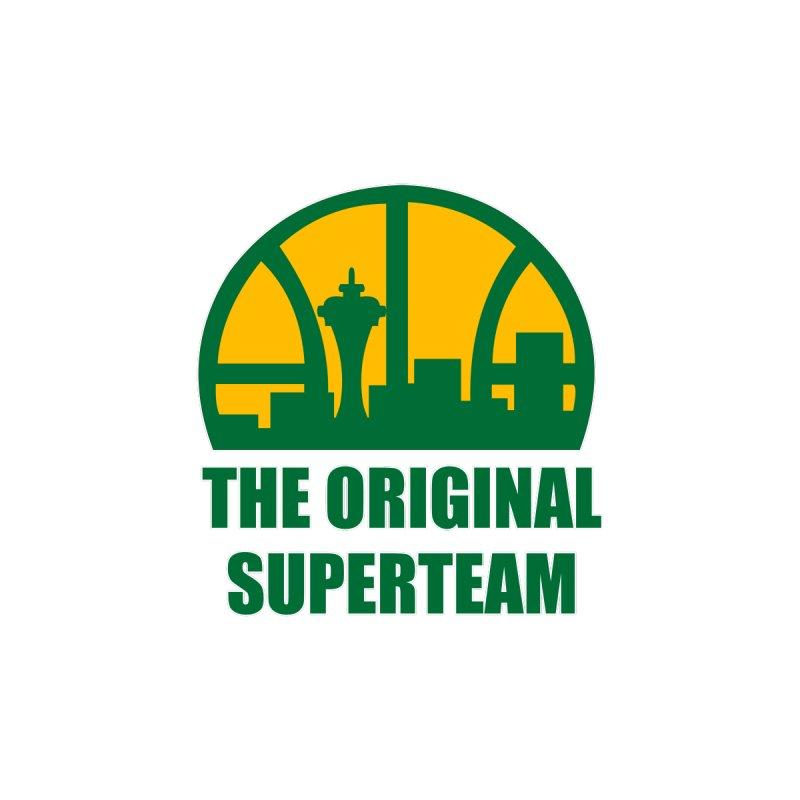 The Original Superteam Men's Sweatshirt by leaguegear's Artist Shop