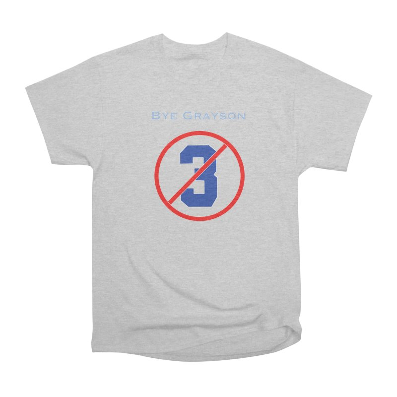 Bye Grayson #3 Women's T-Shirt by leaguegear's Artist Shop