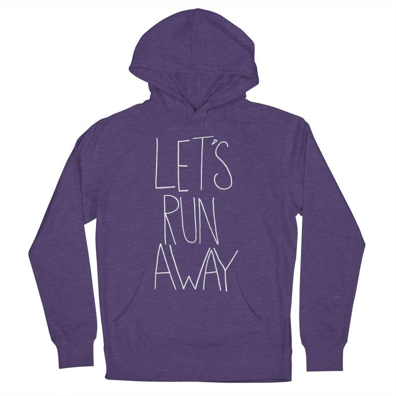 Let's Run Away Women's Pullover Hoody by Leah Flores' Artist Adventureland Shop