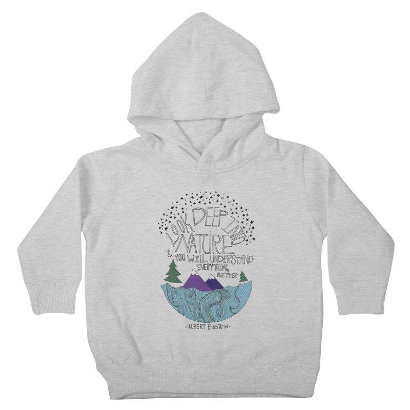 Einstein Nature Kids Toddler Pullover Hoody by Leah Flores' Artist Adventureland Shop