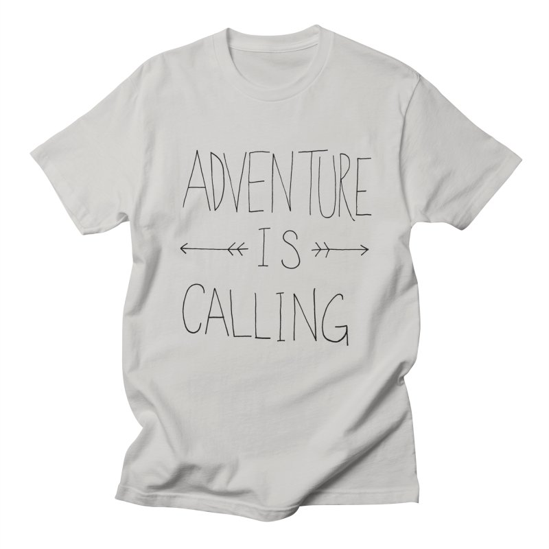 Adventure Is Calling Men's Regular T-Shirt by Leah Flores' Artist Adventureland Shop