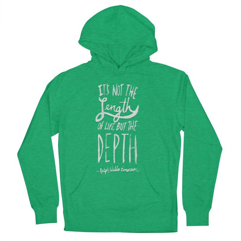 Depth Women's Pullover Hoody by Leah Flores' Artist Adventureland Shop