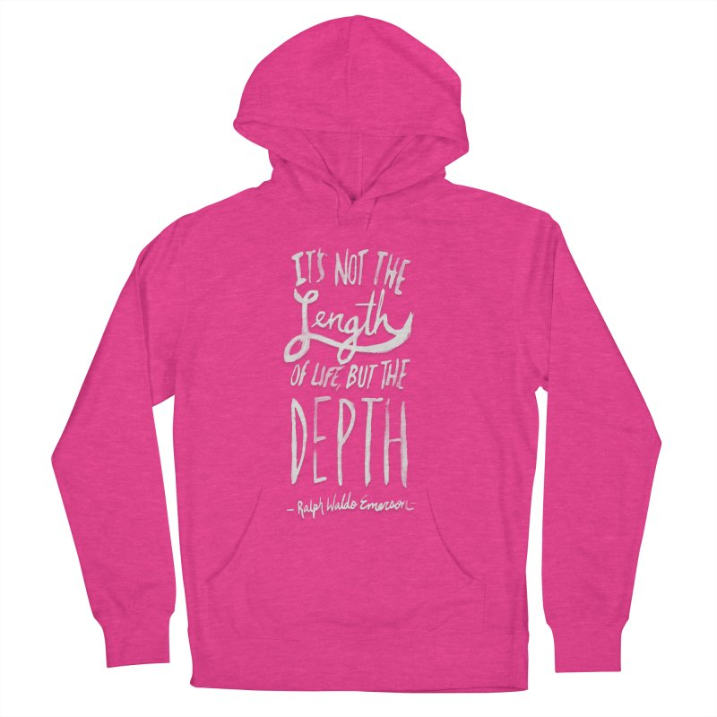 Depth Women's French Terry Pullover Hoody by Leah Flores' Artist Adventureland Shop