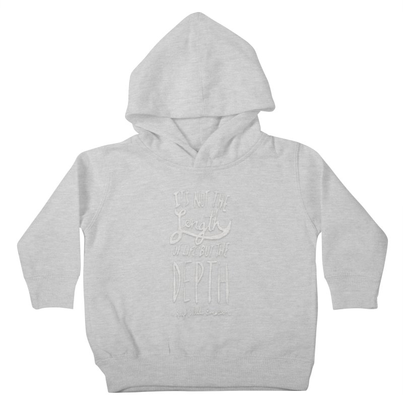 Depth Kids Toddler Pullover Hoody by Leah Flores' Artist Adventureland Shop