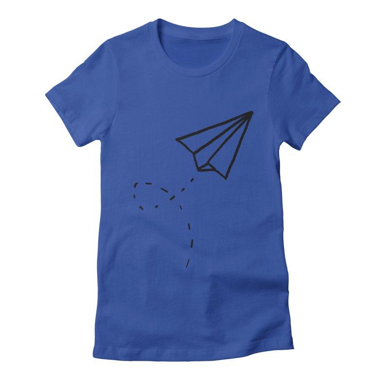 Paper Plane   by Leah Flores' Artist Adventureland Shop