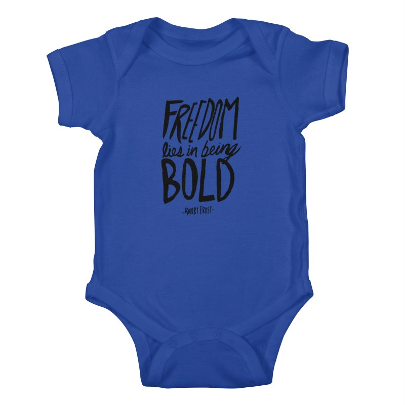 Freedom Bold Kids Baby Bodysuit by Leah Flores' Artist Adventureland Shop