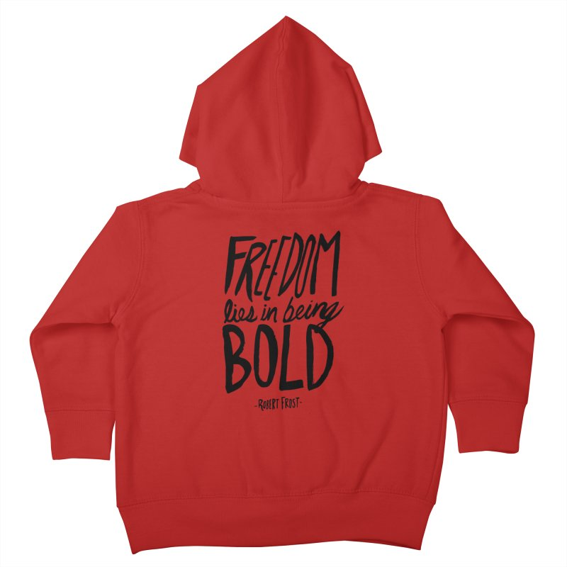 Freedom Bold Kids Toddler Zip-Up Hoody by Leah Flores' Artist Adventureland Shop