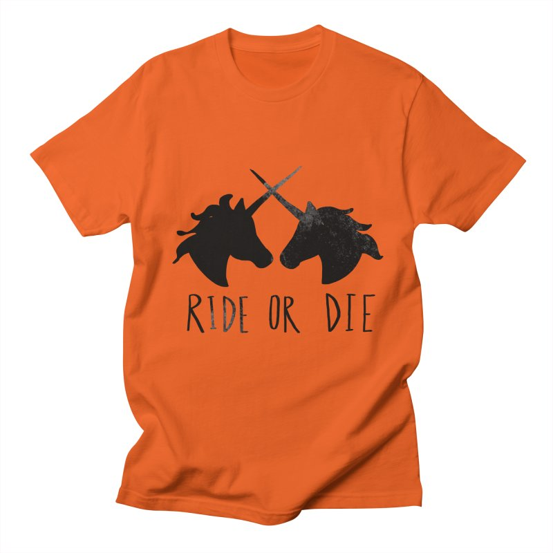 Ride or Die Men's T-Shirt by Leah Flores' Artist Adventureland Shop