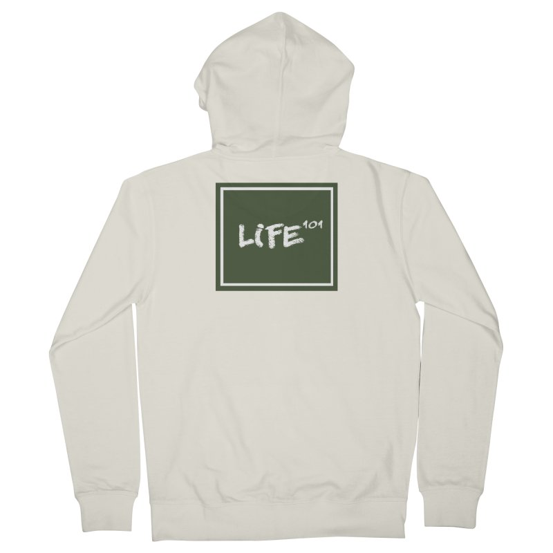 Life 101 Men's Zip-Up Hoody by learnthebrand's Artist Shop