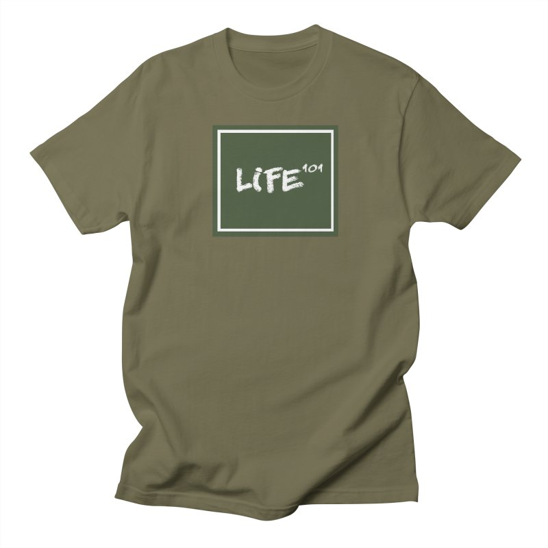 Life 101 Men's T-shirt by learnthebrand's Artist Shop
