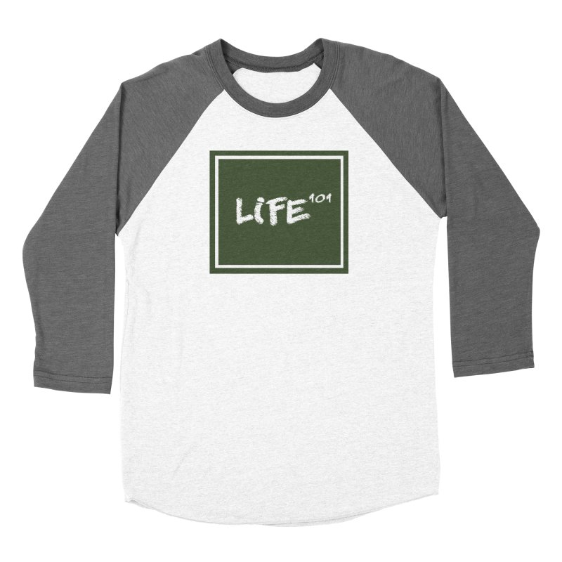 Life 101 Women's Baseball Triblend T-Shirt by learnthebrand's Artist Shop