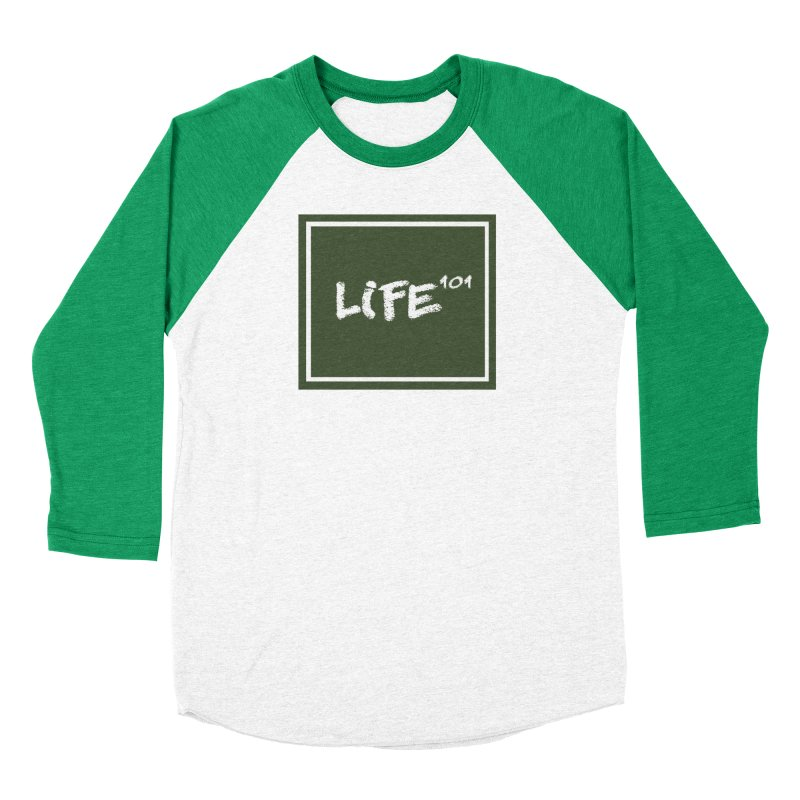 Life 101 Men's Baseball Triblend Longsleeve T-Shirt by learnthebrand's Artist Shop