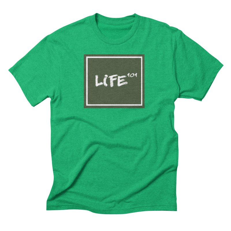 Life 101 Men's Triblend T-shirt by learnthebrand's Artist Shop