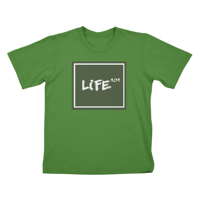 Life 101 Kids T-Shirt by learnthebrand's Artist Shop
