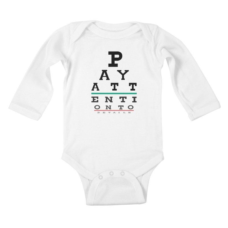 Detailz Kids Baby Longsleeve Bodysuit by learnthebrand's Artist Shop