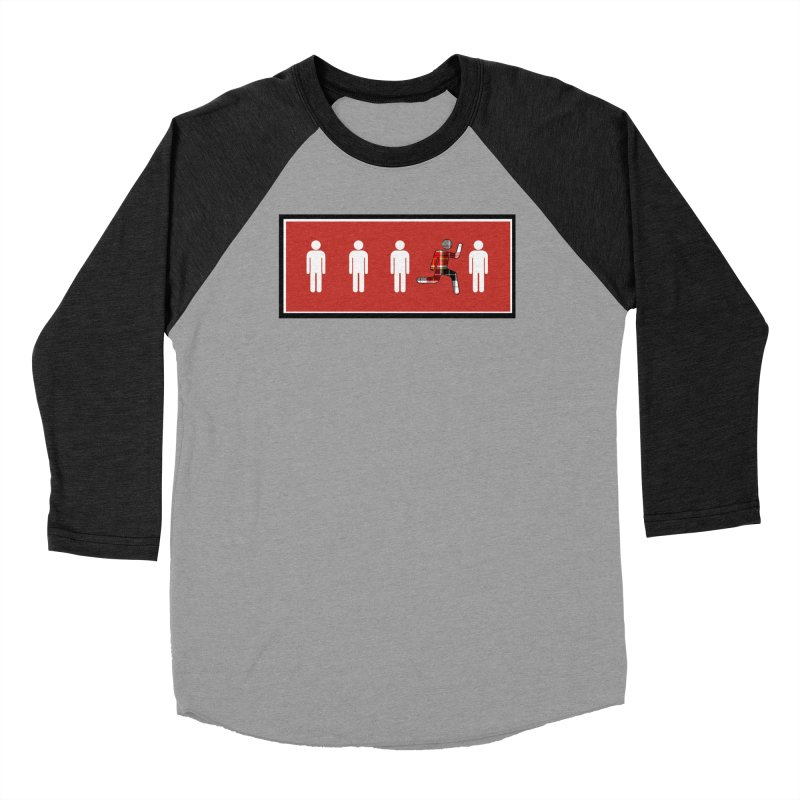 Beyond the Norm Men's Baseball Triblend T-Shirt by learnthebrand's Artist Shop