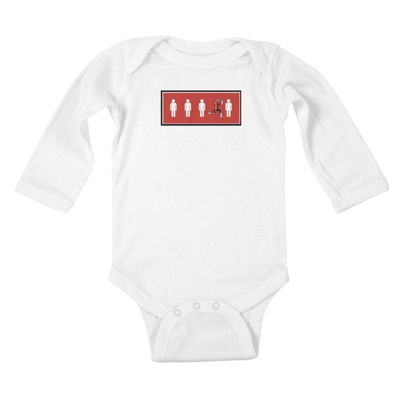 Beyond the Norm Kids Baby Longsleeve Bodysuit by learnthebrand's Artist Shop