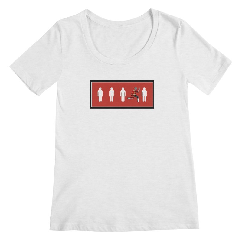 Beyond the Norm Women's Scoopneck by learnthebrand's Artist Shop