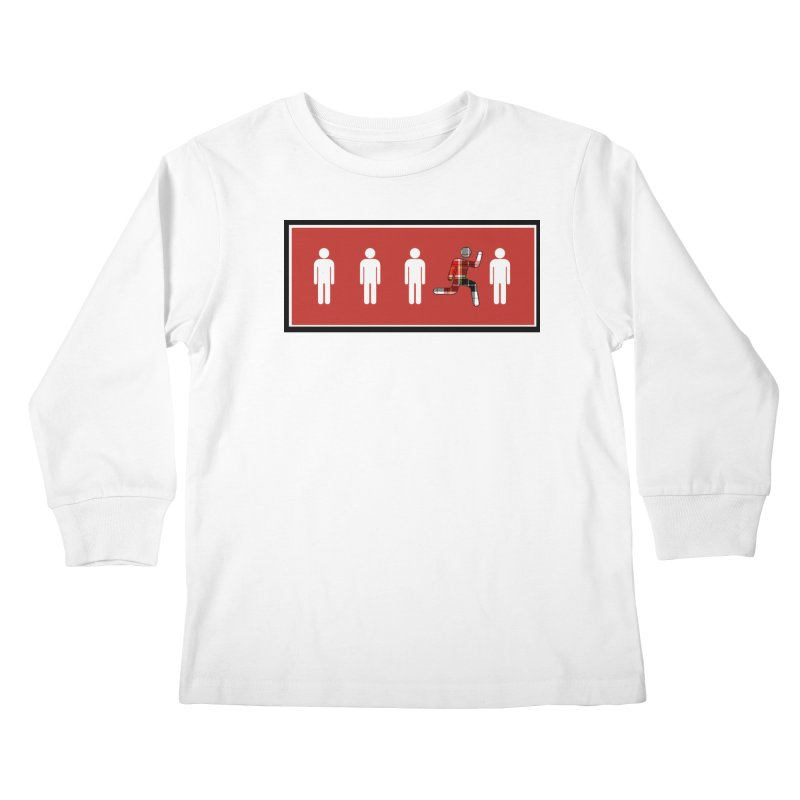 Beyond the Norm Kids Longsleeve T-Shirt by learnthebrand's Artist Shop