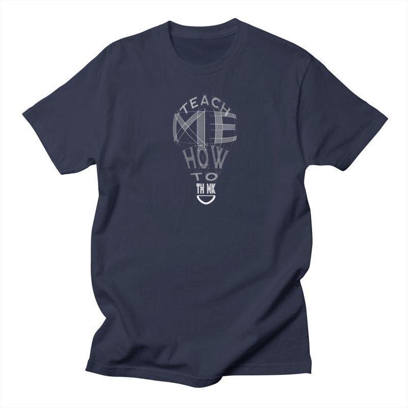 Teach Me Men's Regular T-Shirt by learnthebrand's Artist Shop