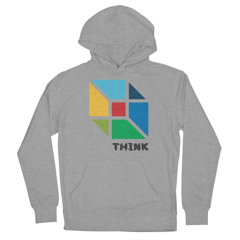 Think Outside Box, C2 Women's Pullover Hoody by learnthebrand's Artist Shop