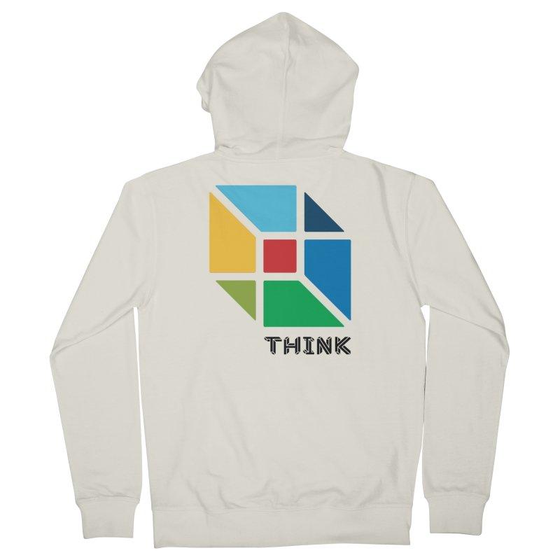 Think Outside Box, C2 Women's Zip-Up Hoody by learnthebrand's Artist Shop