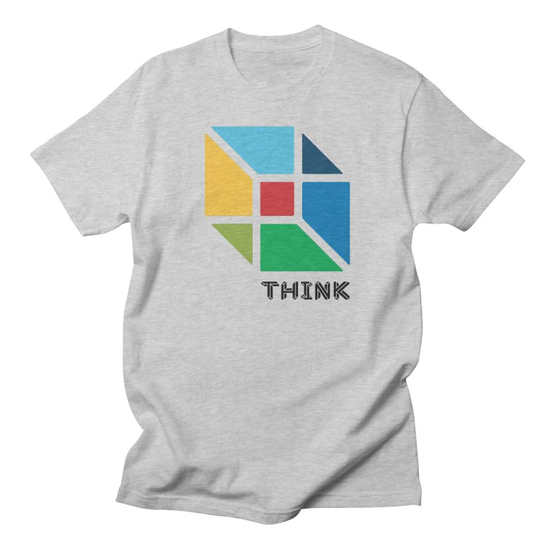 Think Outside Box, C2 Men's T-shirt by learnthebrand's Artist Shop