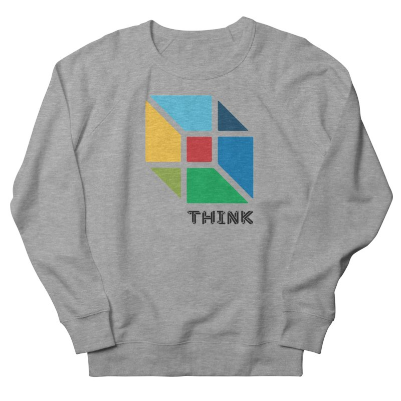 Think Outside Box, C2 Men's French Terry Sweatshirt by learnthebrand's Artist Shop