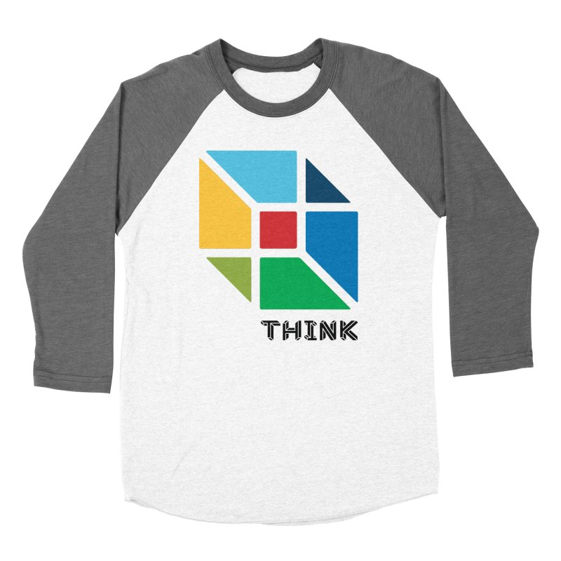 Think Outside Box, C2 Men's Baseball Triblend T-Shirt by learnthebrand's Artist Shop