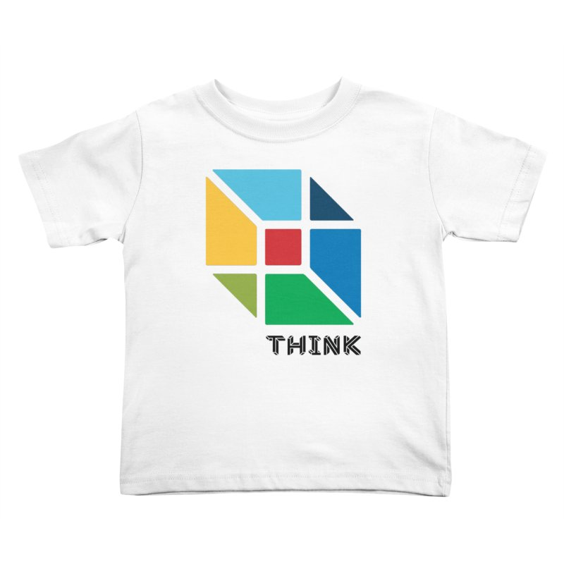 Think Outside Box, C2 Kids Toddler T-Shirt by learnthebrand's Artist Shop