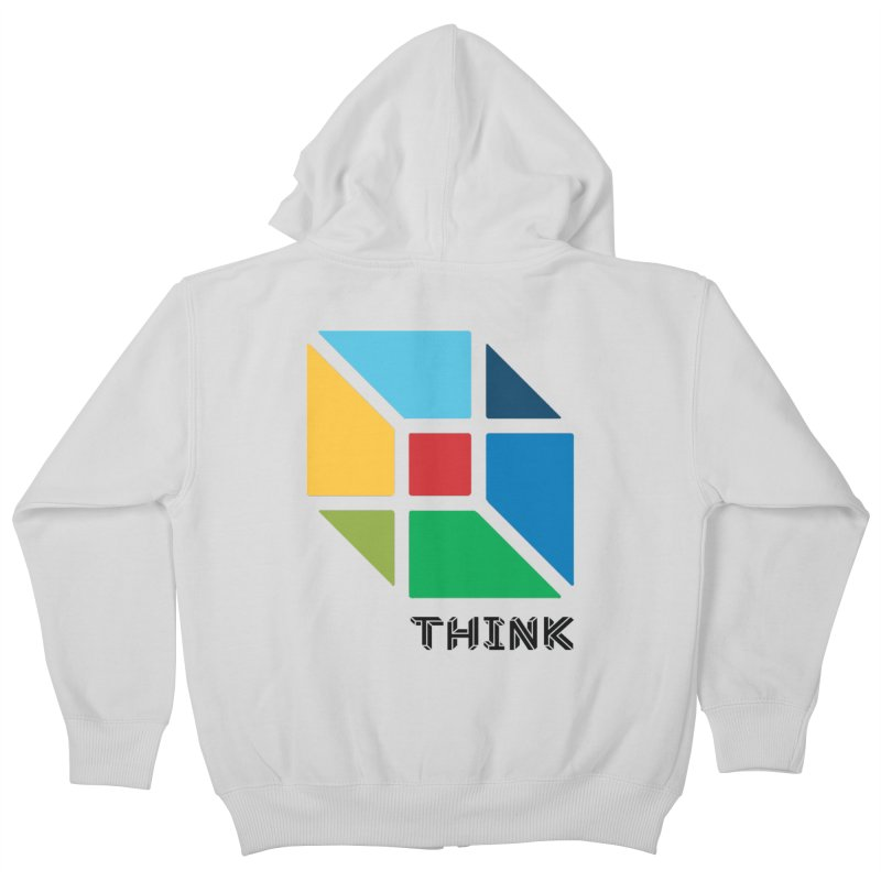 Think Outside Box, C2 Kids Zip-Up Hoody by learnthebrand's Artist Shop