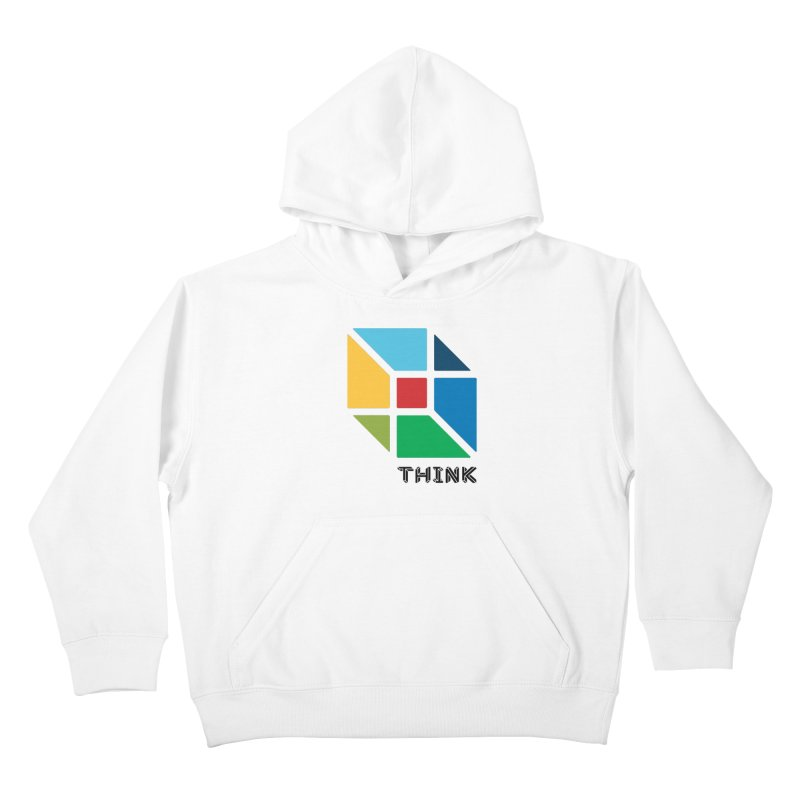 Think Outside Box, C2 Kids Pullover Hoody by learnthebrand's Artist Shop