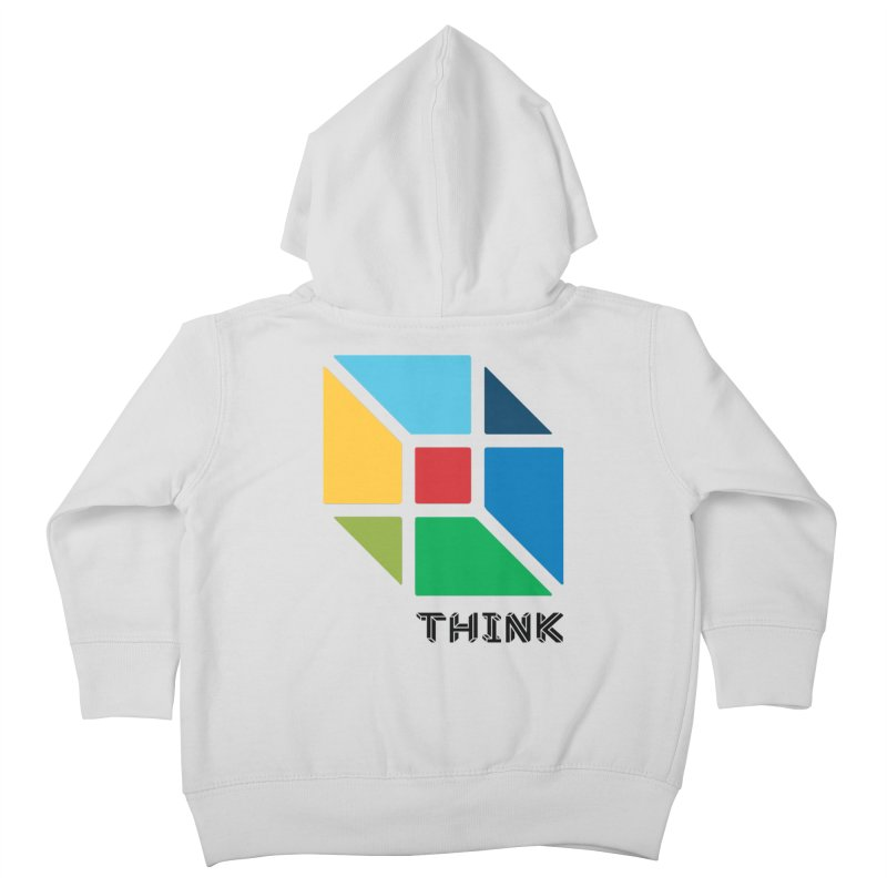 Think Outside Box, C2 Kids Toddler Zip-Up Hoody by learnthebrand's Artist Shop
