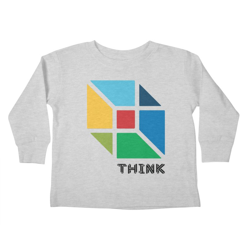 Think Outside Box, C2 Kids Toddler Longsleeve T-Shirt by learnthebrand's Artist Shop