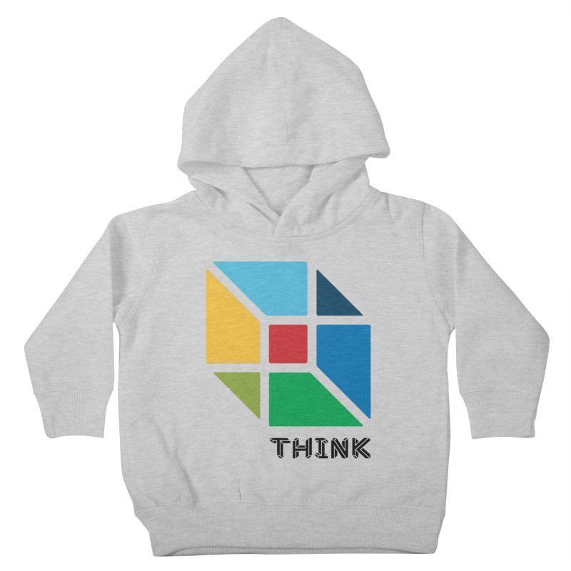 Think Outside Box, C2 Kids Toddler Pullover Hoody by learnthebrand's Artist Shop